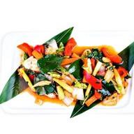 Овощи в тайском стиле Фото