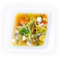 Тайский суп с тофу Фото