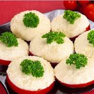 Помидорки фаршированные сыром и чесноком Фото