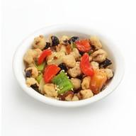 Салат овощной с баклажаном Фото