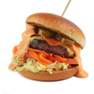 Бургер с перцем халапеньо Фото