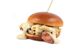 Сырный бургер - Фото