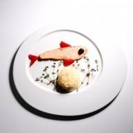 Филе лосося с рисом Фото