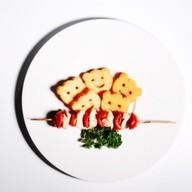 Куриный шашлычок с картофелем Фото