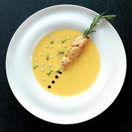 Крем-суп из тыквы с индейкой Фото