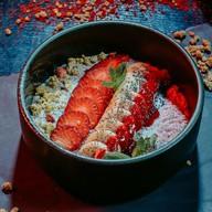 Чиа пудинг с клубникой Фото