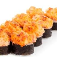 Запеченный c морепродуктами Фото