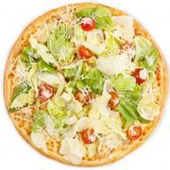 Цезарь с курицей пицца Фото