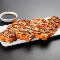Суси пицца с курицей Фото
