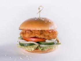Бургер с куриной грудкой - Фото