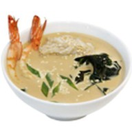 Сливочный суп с креветкой Фото