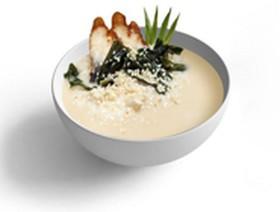 Сливочный суп с угрем - Фото