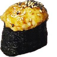 Запеченный краб гункан Фото