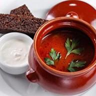 Томатный суп с говядиной Фото