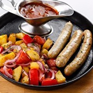 Колбаски нюрнбергские Фото