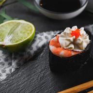 Сливочные суши с креветкой Фото