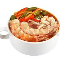 Азиатский суп с креветками Фото