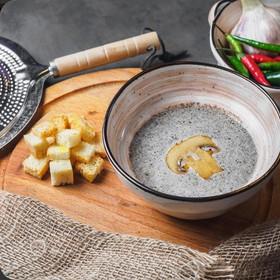 Крем-суп из шампиньонов - Фото