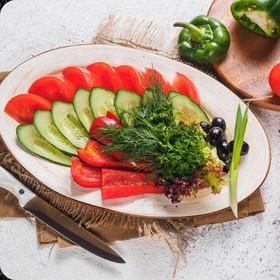 Овощная нарезка - Фото