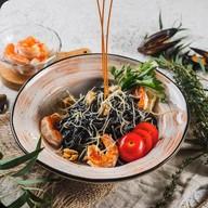 Паста с морепродуктами Фото