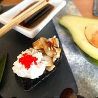 Суши сливочные с угрем Фото