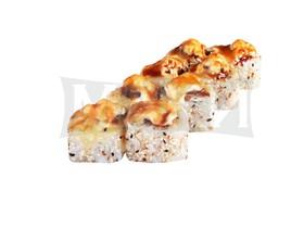 Запеченный с грибами - Фото
