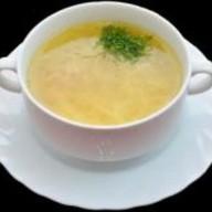 Суп-лапша домашняя с курицей Фото