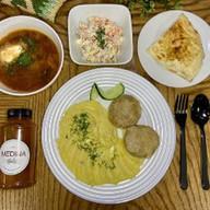 Комплексный обед №3 Фото