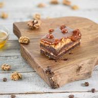 Карамельно-ореховый торт Фото