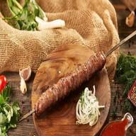 Люля-кебаб из говядины и баранины + соус Фото