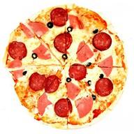 Колбаски пицца Фото