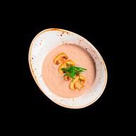 Крем-суп из лосося ресторанный Фото