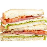 Сэндвич с карбонадом Фото