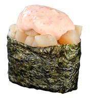 Острые суши с курицей Фото
