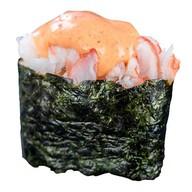 Острые суши с креветкой Фото
