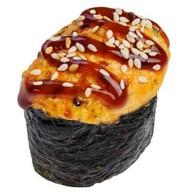 Запеченные суши с мидиями Фото