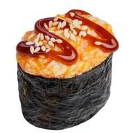 Запеченные суши со снежным крабом Фото