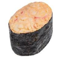 Спайси суши со снежным крабом Фото