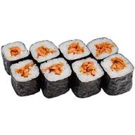 Хосомаки с лососем гриль Фото