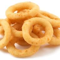 Луковые кольца + соус Фото