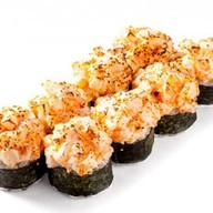 Запеченный с морепродуктами Фото