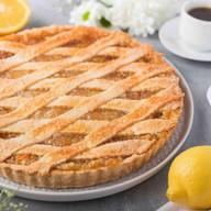 Лимонный пирог с лимоном и апельсином Фото