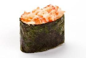 Запеченные суши сякэ кани унаги - Фото
