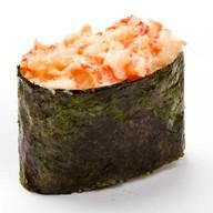 Запеченные суши сякэ кани унаги Фото