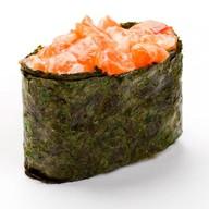 Запеченные суши сякэ Фото
