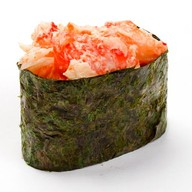Суши острые спайси эби Фото