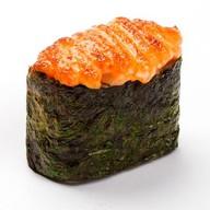Запеченные суши спайси сякэ Фото