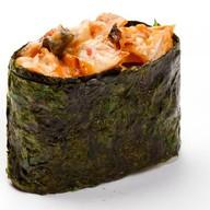 Запеченные суши унаги Фото