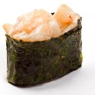 Запеченные суши хотатэ Фото