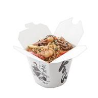 Яичная лапша с морепродуктами на терияки Фото